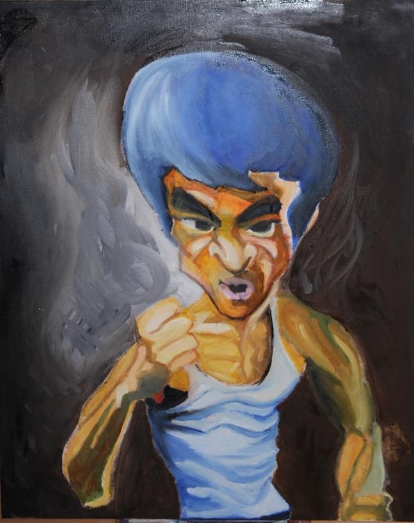 Bruce Lee by demersemanthomas